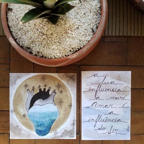 Amar é a influência + Coração Transborda
