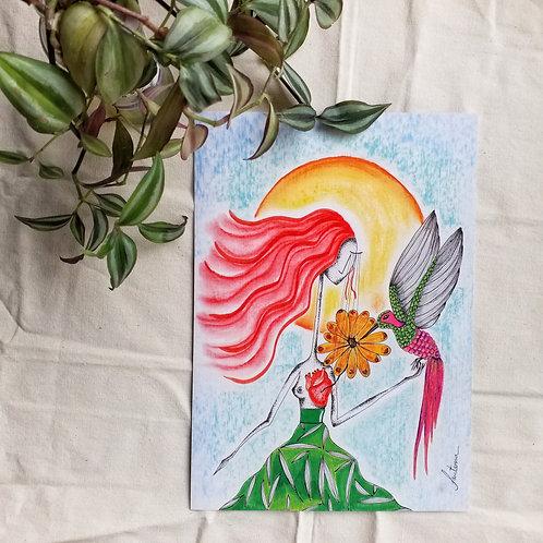 A4 Beija-flor o mensageiro do Grande Espírito