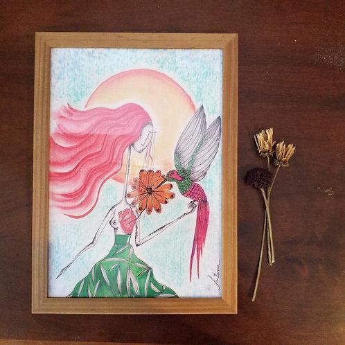 A4 Beija-flor - O mensageiro do Grande Espírito