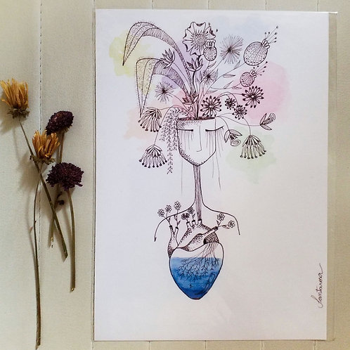 A4 Meu Coração Brota Flores