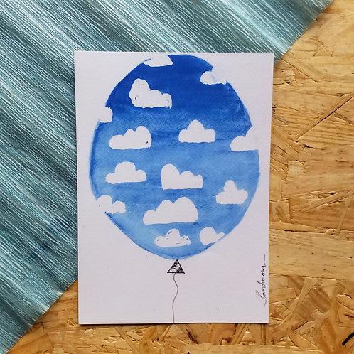 A5 Balão de Nuvens