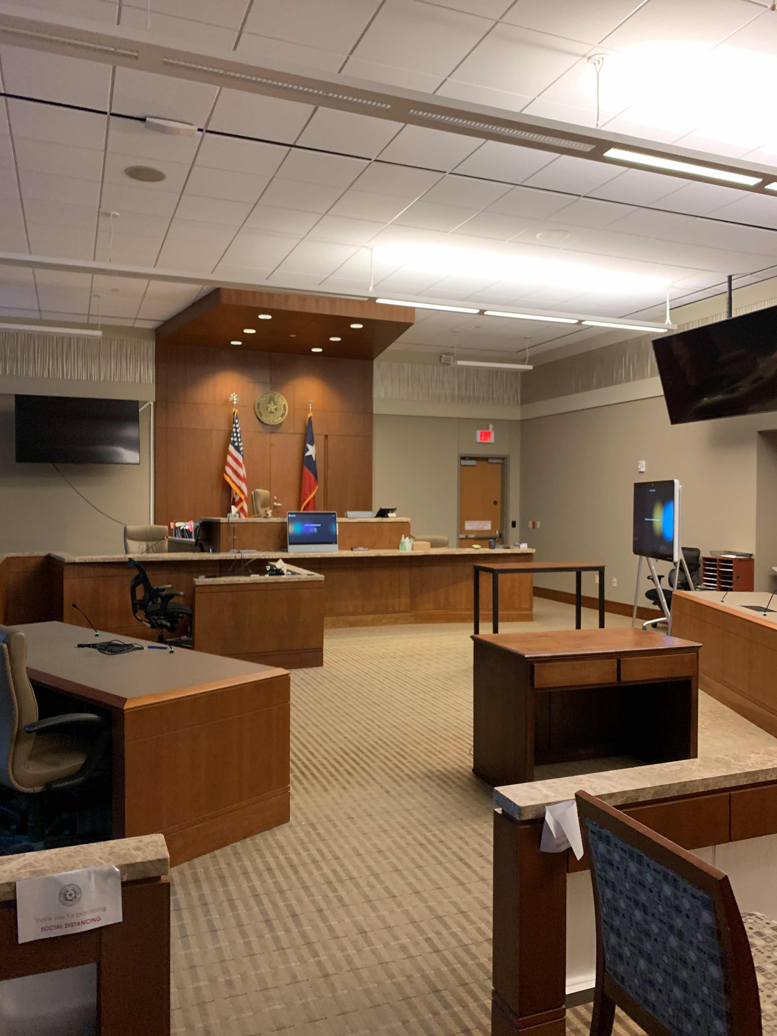 Ellis County - Courtroom #6 Infill