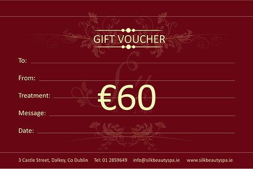 Gift Voucher €60