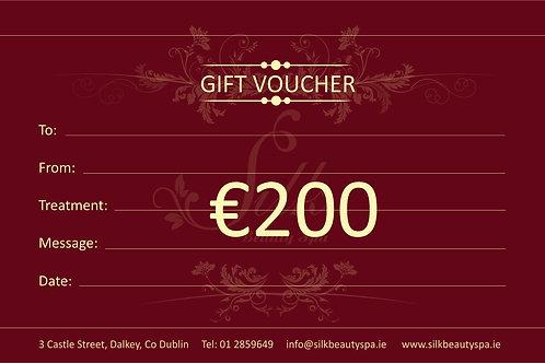 Gift Voucher €200