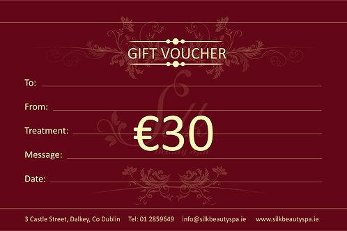Gift Voucher €30
