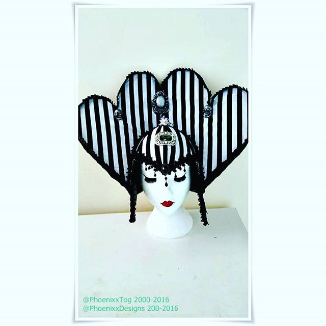 Phoenixx Designs UK Beetlejuice Headdres