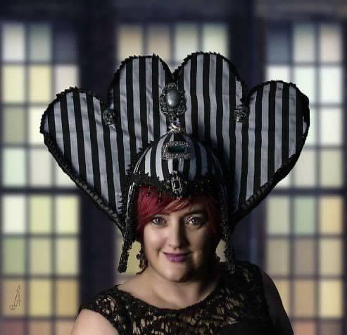 Beetlejuice Princess Headdress