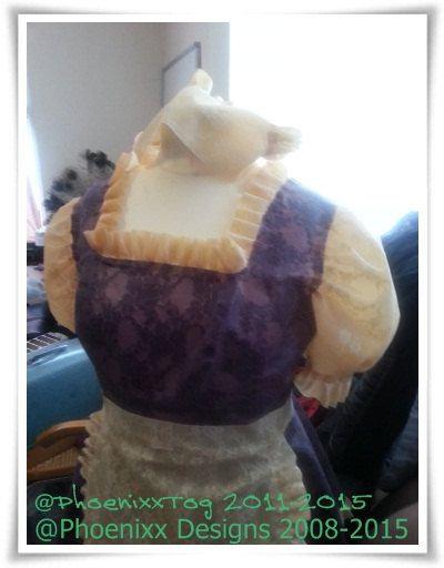Plus Size Latex *Maxine* Phoenixx Dress