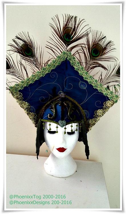 Peacock Princess Headdress