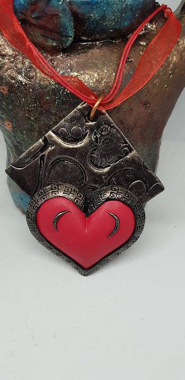 Red Heart Pendant .. 158 ..