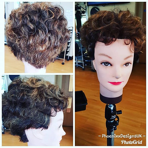 Restyle & Set Short Hair Wig