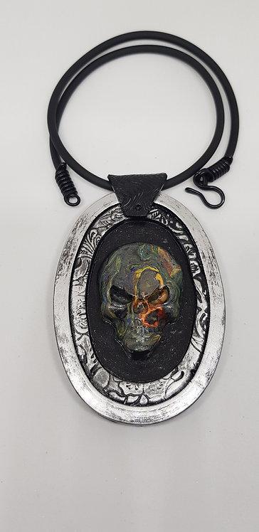Skull Amulet Pendant .. No.39 ..