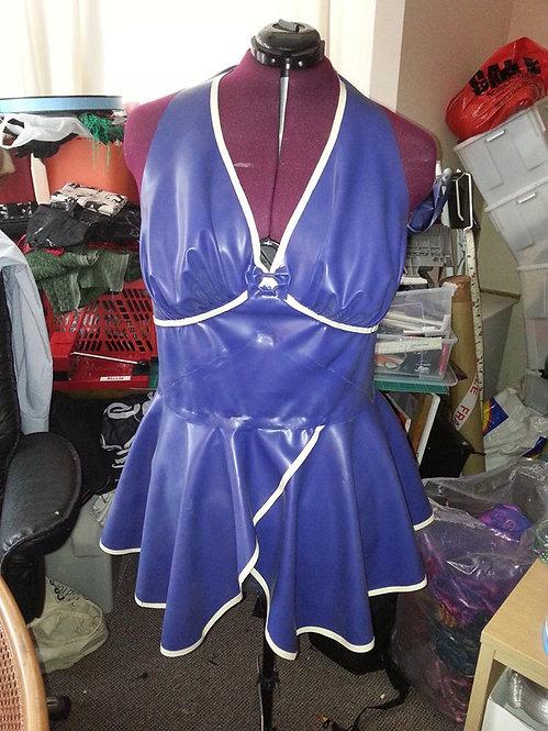 Plus Size Latex *Asteria* Halter Phoenixx Dress .. SS2012