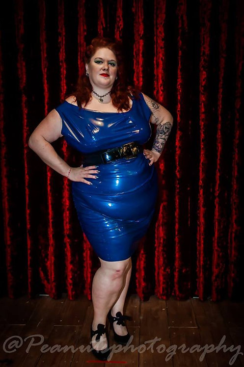 Plus Size Latex *Leigh* Wiggle Dress .. SS2016