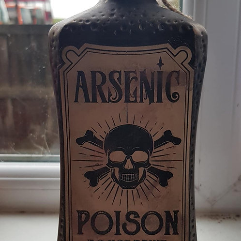 Hand-Made Arsenic Poison Candle Holder ..
