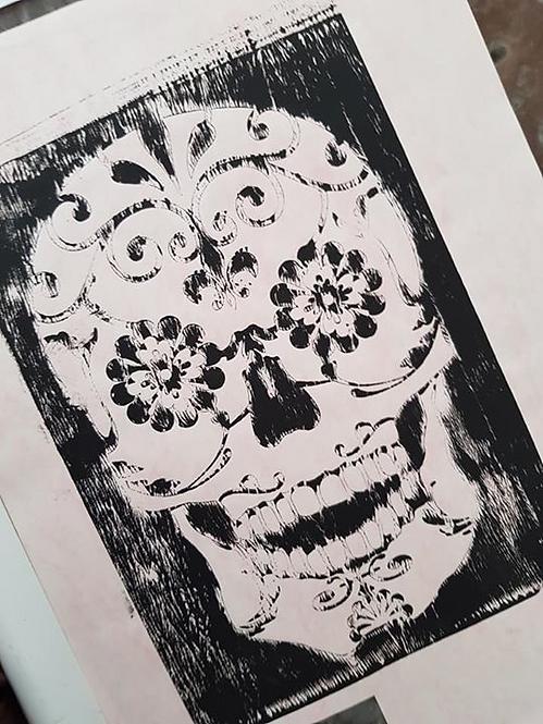 Black Sugar Skull Limited Edition Print