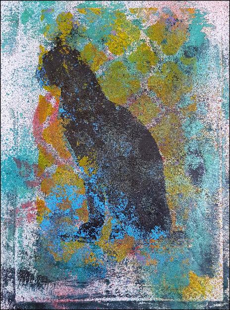 Black Cat Limited Edition Print
