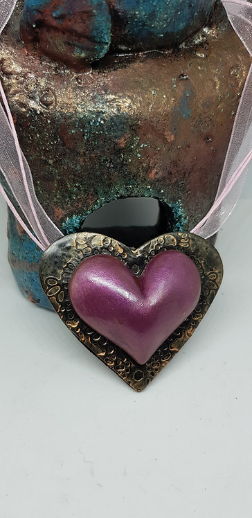 Purple Heart Pendant .. 161 ..