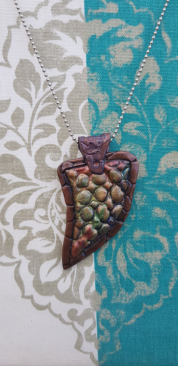Dragons Scales Amulet Pendant .. No.5
