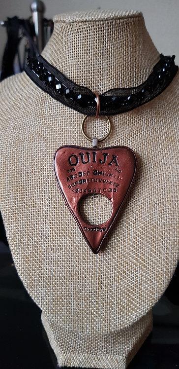 Metallic Bronze colour Ouija Pendant .. 215 ..