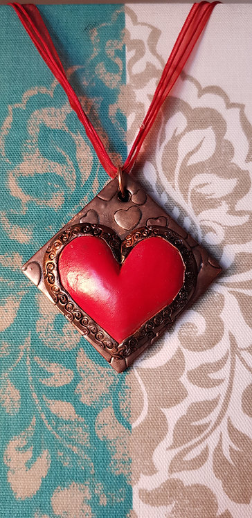Red Heart Pendant .. 162 ..