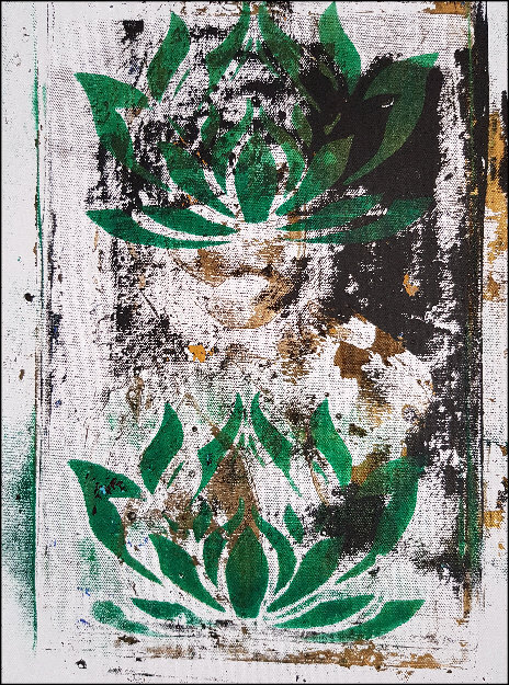 Green Lotus Flowers Limited Edition Print