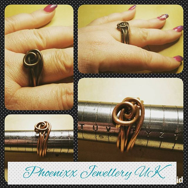 Plus size ring .. Turban Knot Design ..j