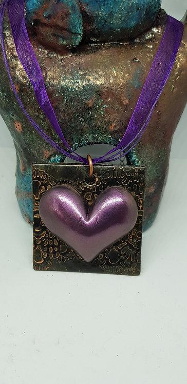 Purple Heart Pendant .. 159 ..