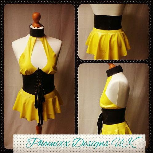 Plus Size Latex *Silk Spectre* Tennis Dress Costumes .. SS2017