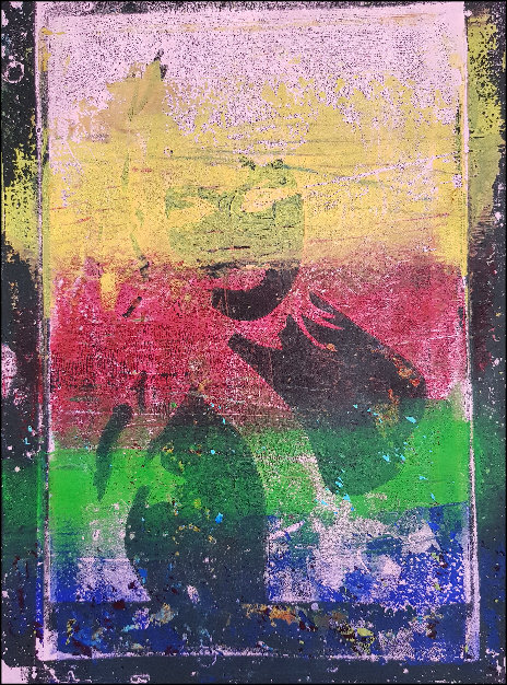Rainbow Bust Limited Edition Print
