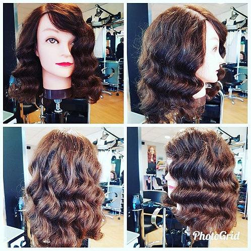 Restyle & Set long Hair Wig