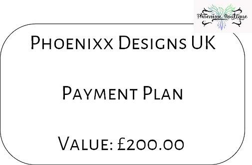 Payment Plan - £200
