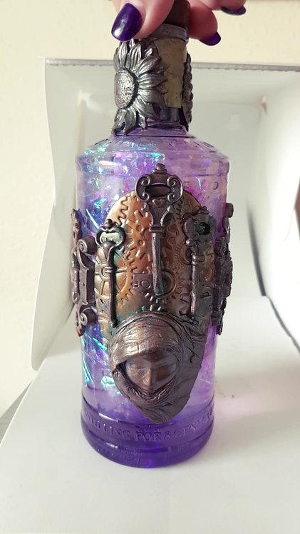 Steampunk *Golden Age* Potion Bottle .. No. 235..