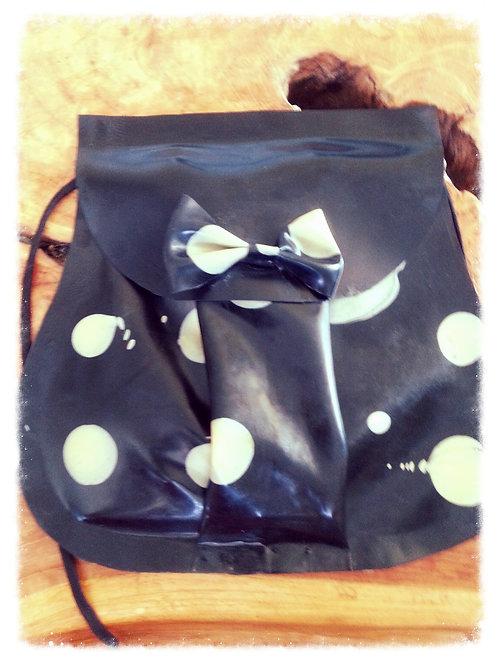 Latex Across-Shoulder Handbag/Purse  .. SS2008