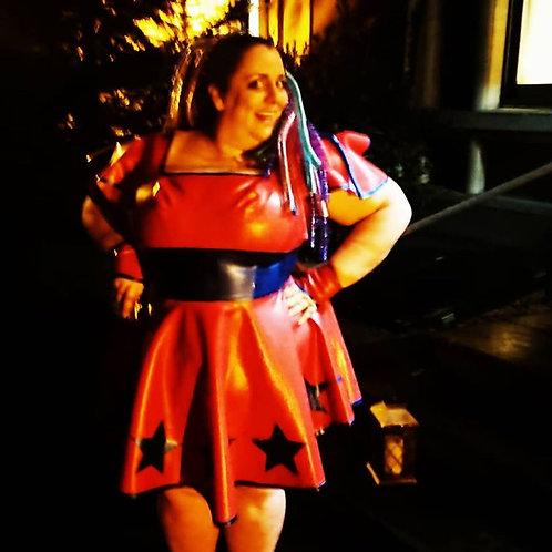 Plus Size Latex ** Tennis Dress .. SS2018