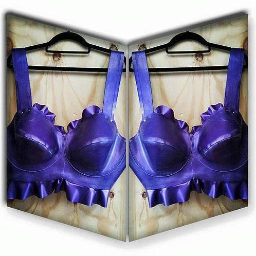 Plus Size Latex Underwired *Abbott* Bra .. SS2012