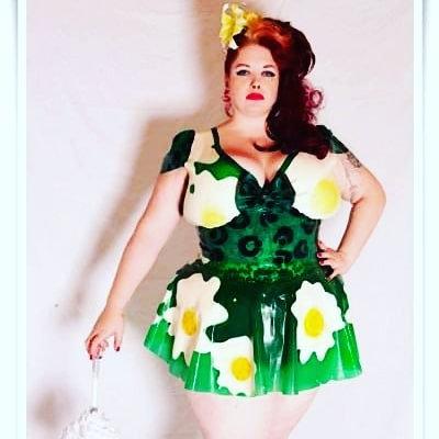 Plus Size Latex *Daisy* Phoenixx Dress .. SS2014