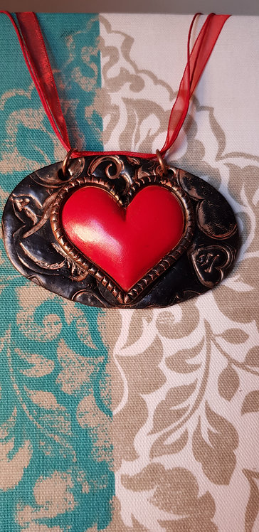 Red Heart Plaque .. 158 ..