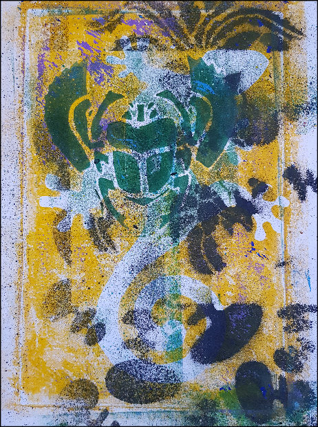 Green Beetle Limited Edition Print