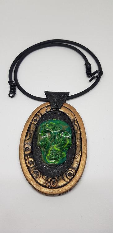 Skull Amulet Pendant .. No. 40 ..