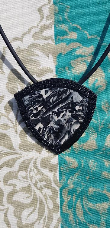Monochrome Collection .. Amulet Pendant .. No.32 ..