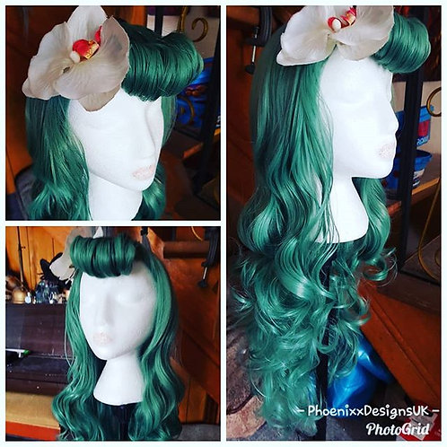 Restyle & Set Very Long Hair Wig