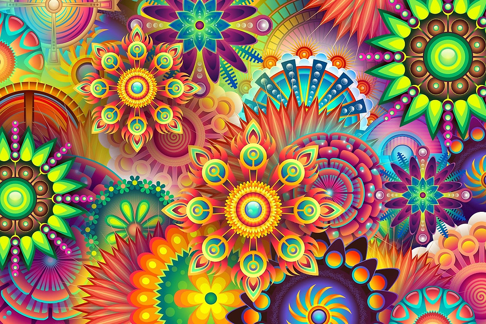 psychedelic visuals