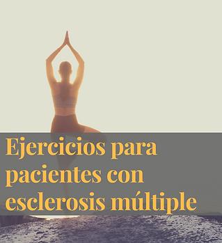 Ejercicios para pacientes con esclerosis múltiple