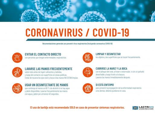 Recomendaciones generales para prevenir virus respiratorios