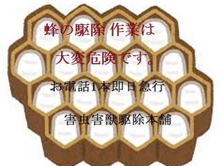 川崎市麻生区の蜂駆除のスペシャリスト 害虫害獣駆除本舗