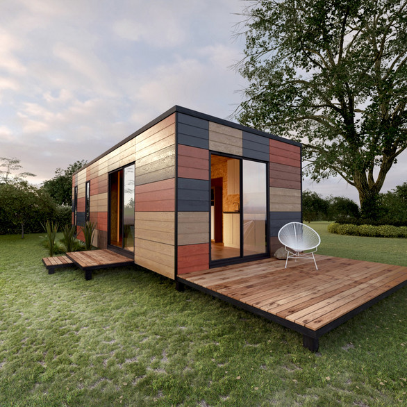 Sustainable Housing - Shipping Container Home