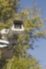 Video surveillance acts as a deterrent for graffiti vandals.