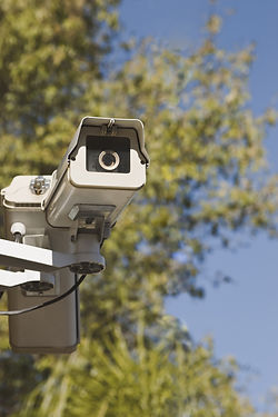 Video surveillance acts as a deterrent for graffiti vandals.