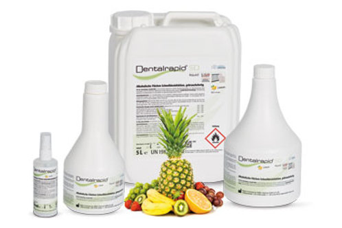 Dentalrapid® SD liquid (Fruit) Flächendesinfektion ab
